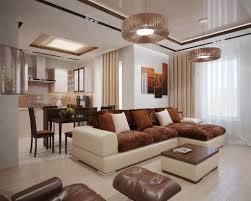 Living Room Design: Plum White Taupe Living Room Scheme - Living Room