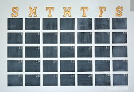 large chalkboard calendar chalkboard wall calendar diy it all started with paint