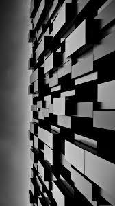 3D Abstract Art Dark Cubes Wall iPhone ...
