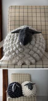 you guys i find myself daydreaming about a stuffed and it s all purl soho s fault i thought the bobble sheep pillow was super cute and well done