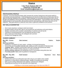 sales assistant cv example 11 retail assistant cv examples manager resume
