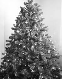 Black and White Christmas Tree by ElegantlyEccentric ...