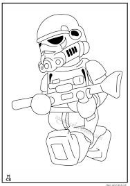 Small Picture Lego Stormtroopers Coloring Pages