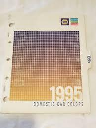 Napa Auto Paint Color Chart Details About 1995 Napa Martin Senour Paints Domestic Car Color Chips Charts Ma 4080