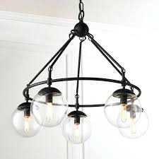 glass globe chandelier pottery barn barrett mobile shades glass globe chandelier homesabode milk large pendant lighting bistro