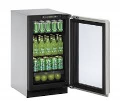 2218rgl 18u201d glass door refrigerator glass front refrigerator r0