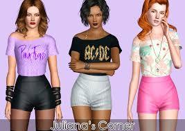 Sims 3 Updates - Juliana Sims : Groupie Outfit By Juliana!