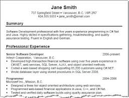 Template For Writing A Resume Summary Resume Template Example Resume ...