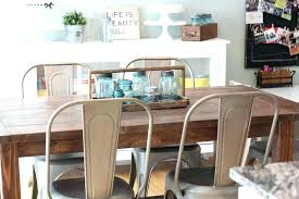 farm table with metal chairs extraordinary dining room sets fundsmonster club home ideas 31