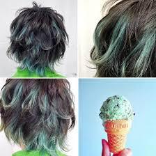 メンズレディース緑の髪色を大特集人気のアッシュや市販ヘアカラー