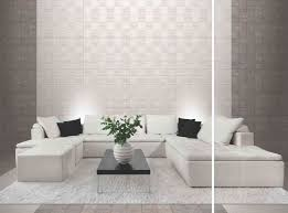 and being dramatic don t have to be mutually exclusive and this monochromatic living room shows exactly how harmonising your wall tiles with the floor