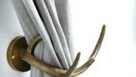 installing hooks source magnetic curtain tie backs antler curtain tiebacks curtain tie backs