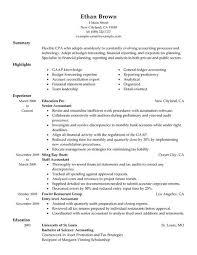 Accounting Resume Samples 12 Accountant Sample