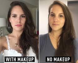 should women wear makeup i didn39t wear makeup for a week and my skin has never