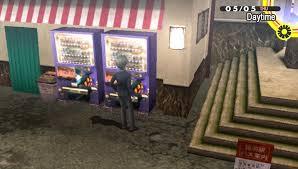 Persona 4 Vending Machine Classy Persona Series The Video Game Soda Machine Project