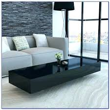 black coffee table with drawers high gloss k coffee table with drawers home wood black coffee