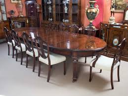... Dining Room Table, Inspiring Brown Rectangle Minimalist Wood 10 Seat  Dining Table With 10 Chair ...