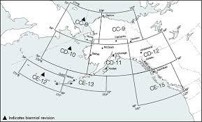 World Aeronautical Charts Alaska