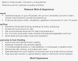 Sample Grill Cook Resume Cook Resume Sample Pdf Best 20 Resume For Retired Person Popular