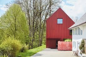 Es kann unschöne flecken geben. Das Rote Haus Leben Wohnen