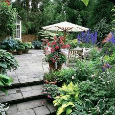 Small Picture Small Patio Garden Design Markcastroco