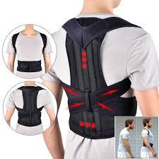LASPERAL <b>Back</b> Waist Posture <b>Corrector</b> Adjustable Adult ...