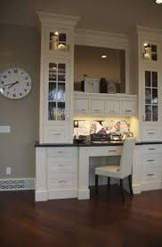 desk in kitchen design ideas. Delighful Design Built In Desk But The Same Design Can Basically Be Used For A Small Office  Kitchen To Ideas