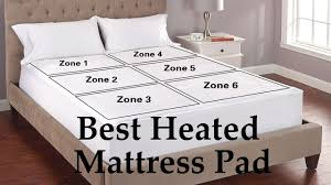 Best Heated Mattress Pad (King \u0026 Queen Size) - YouTube