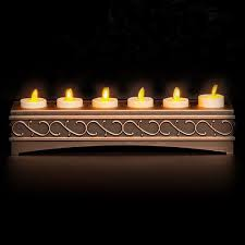 luminara rechargeable votive candles set of 6 remote ready at battery operated candles