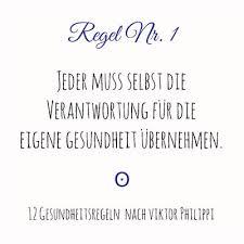 Gesund Werden Mit System 12 Regeln Viktor Philippi Stiftung