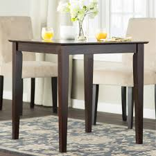 Standard Kitchen Table Sizes Greenwood Counter Height Dining Table Square Wood Kitchen Table