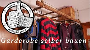 Garderobe Aus Alter Leiter Bauanleitung Zum Selberbauen