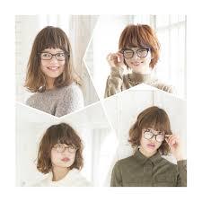 似合わないなんてもったいない顔型別メガネのおしゃ可愛ヘア