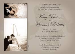 Example Of A Wedding Invitation Card Wedding Invitation Cards