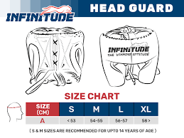 Boxing Head Guard Size Chart Custom Boxing Equipment Sizes Infinitude Fight