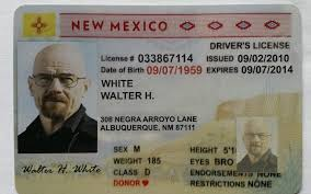 Bad My Saul Mexico saul License Driver's White's Breaking Ebay Cards H New Collector breaking Walter 4