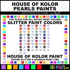 Hok Paint Color Chart Cinnamon Pearls Glitter Sparkle Shimmer Metallic