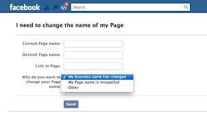 changing page display name