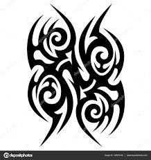 Tetování Tribal Vektor Stock Vektor 1rudvi 147815145