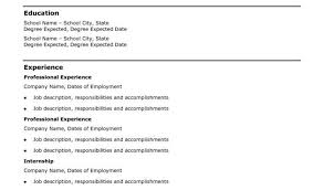 Resume Styles Examples And How To Write A Simple Resume 5 Majestic