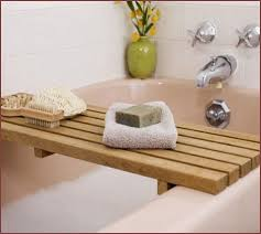 diy wood bathtub caddy