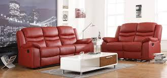 2 seater leather sofa set