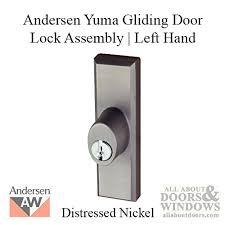 andersen window frenchwood gliding door lock assembly w keys yuma lh