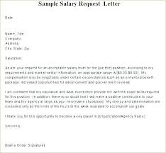 Raise Request Template Pay Raise Request Letter Salary Application For