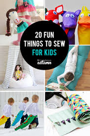 fun things to sew for kids