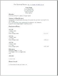 Google Resume Format Template Resumes Resume Free Templates A Format ...