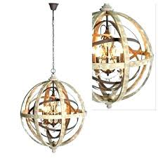 wood orb light impressive wood and metal orb chandelier large round wooden orb chandelier with metal