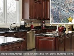 cobalt blue bahia granite countertop design idea cobalt blue bahia kitchen granite countertop design