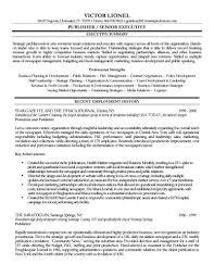 Resume Leadership Sample Senior Accounts Executive Samples Section