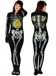 plus size footed pajamas i must have one sugar skeleton footed pajamas plasticland